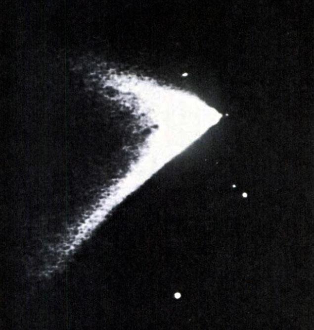 Imagem de telescópio da Universidade Northwestern revela a Apollo 14 a caminho da Lua