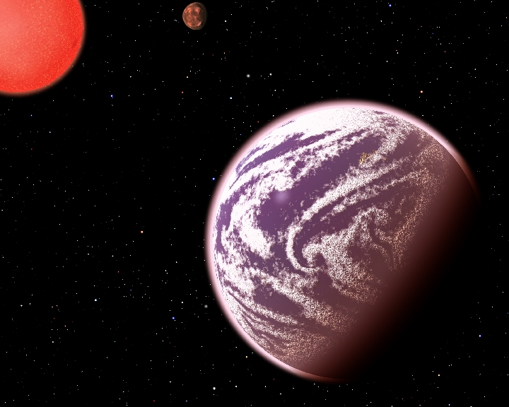 """Cientistas descobrem primeira """"Terra gasosa"""" Base"""