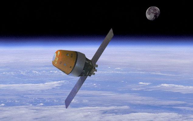 Concepção artística do Veículo Orbital indiano, que terá seu primeiro teste em 2014