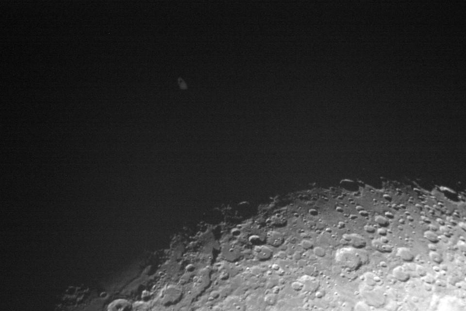 Adão Chagas, de Mogi-Guaçu (SP), registra a desocultação de Saturno