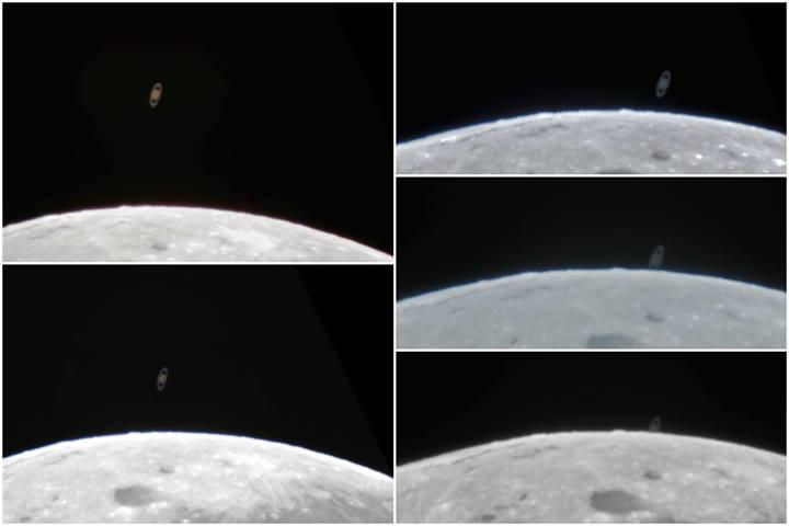 Imagens obtidas pelo astrofotógrafo amador Matheus Ribeiro, em Salvador (BA)