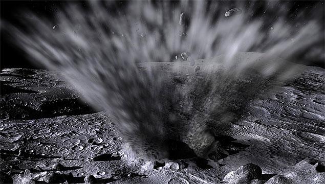 Vai chover pedra de cometa no solo lunar hoje à noite!