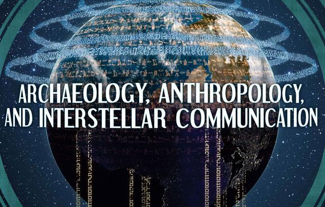Ilustração da capa do guia da Nasa sobre comunicação extraterrestre