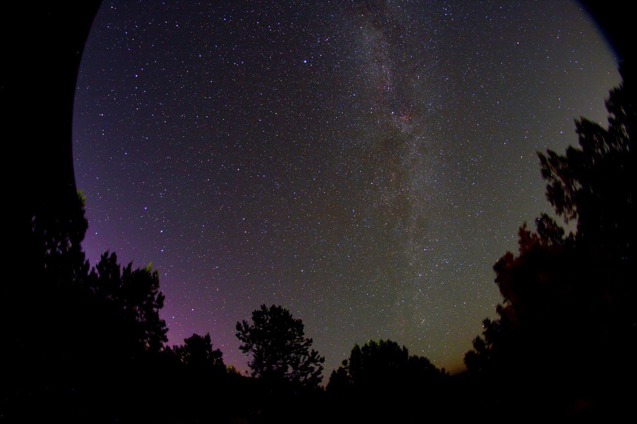 Aurora registrada no sul dos EUA pelo astrofotógrafo Chris Schur