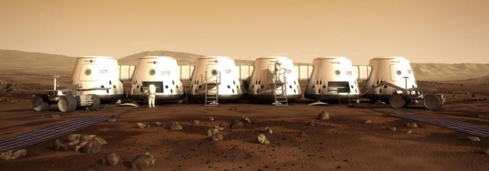 Você moraria num desses iglus espaciais em Marte? Este é o plano da fundação holandesa Mars One.