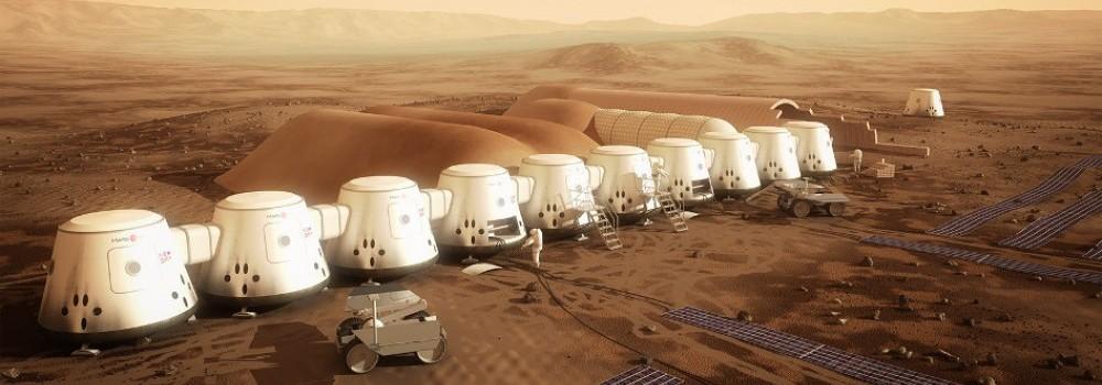 A expansão da colônia marciana seria feita com novos lançamentos a cada dois anos.
