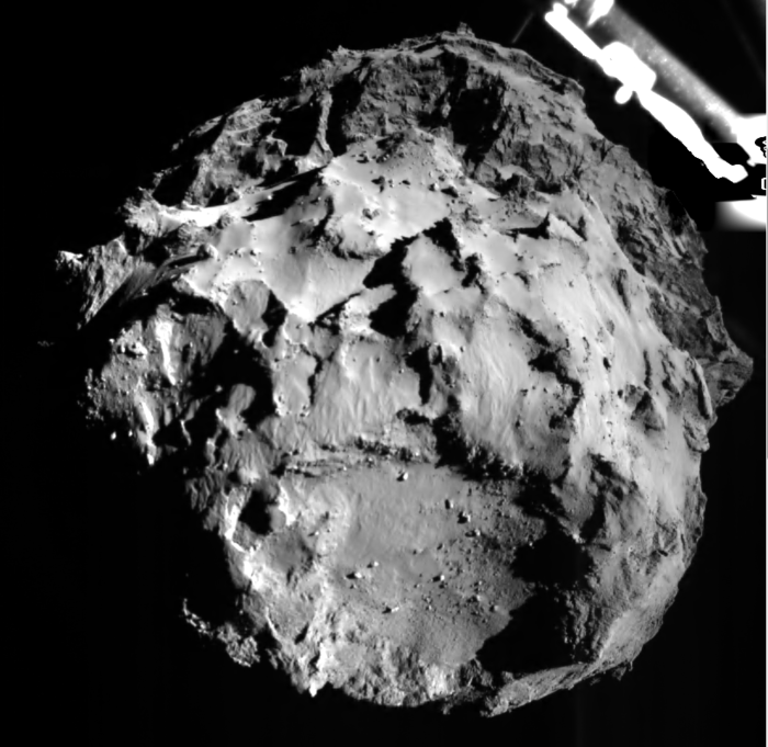 """""""Sai de baixo!"""", informa o Philae ao descer no cometa!"""