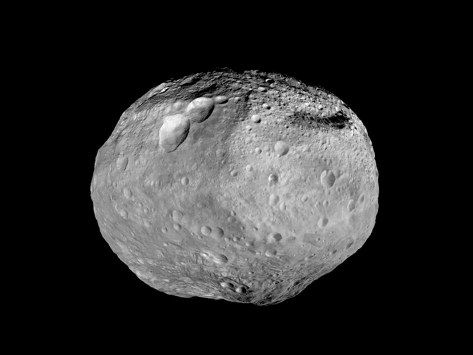 Vesta, esse asteroide gigante e simpático, visto de perto pela sonda americana Dawn.