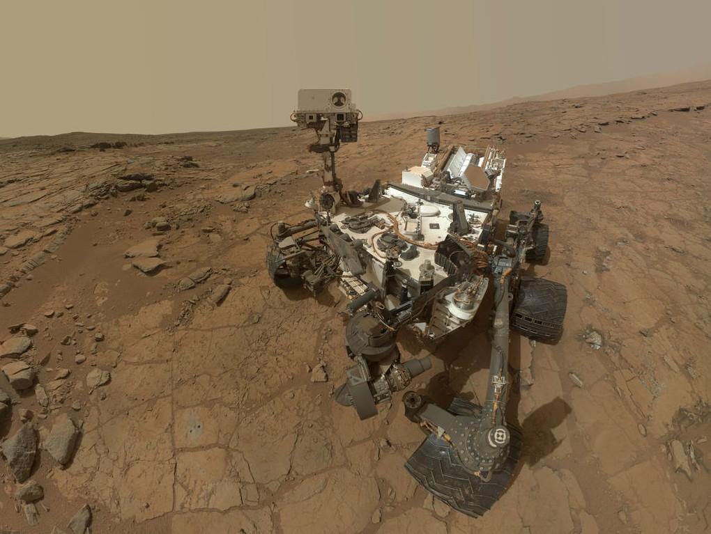 Novas revelações intrigantes do jipe Curiosity em Marte.