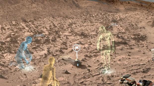Cientistas explorarão Marte virtualmente com software desenvolvido pela Nasa e pela Microsoft (Crédito: Nasa)