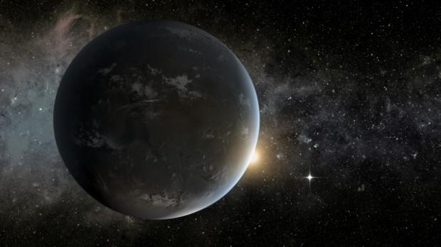 O sistema Kepler-62 é um dos casos conhecidos em que dois planetas ocupam a zona habitável. Combinação deve ser comum no Universo. (Crédito: Nasa)