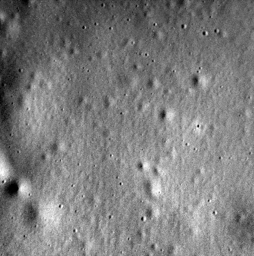 Última imagem enviada de Mercúrio, a 40 km de altitude, em 30 de abril. (Crédito: Nasa)