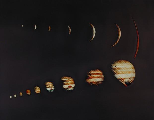 Júpiter registrado pela Pioneer 10, em 1973 (Crédito: Nasa)