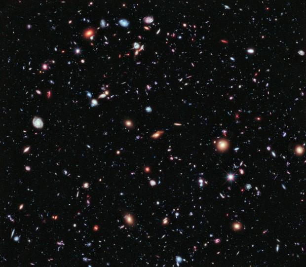 O passado do Universo já foi mais glorioso; o futuro tende à escuridão. (Crédito: Nasa/ESA/STScI)