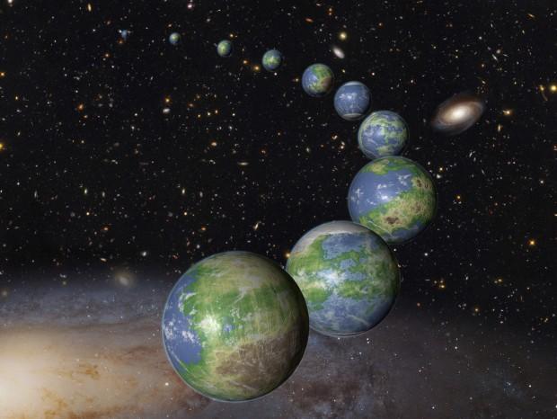 Planetas habitáveis em geral devem durar pouco tempo nesse estado, segundo os pesquisadores (Crédito: Nasa)