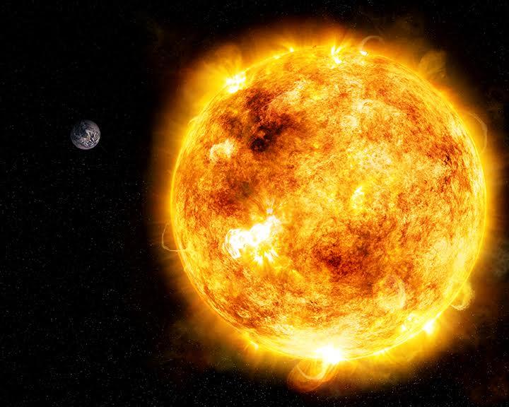 a285bf6c Estudo com réplica do Sol jovem sugere que a vida na Terra esteve por um fio