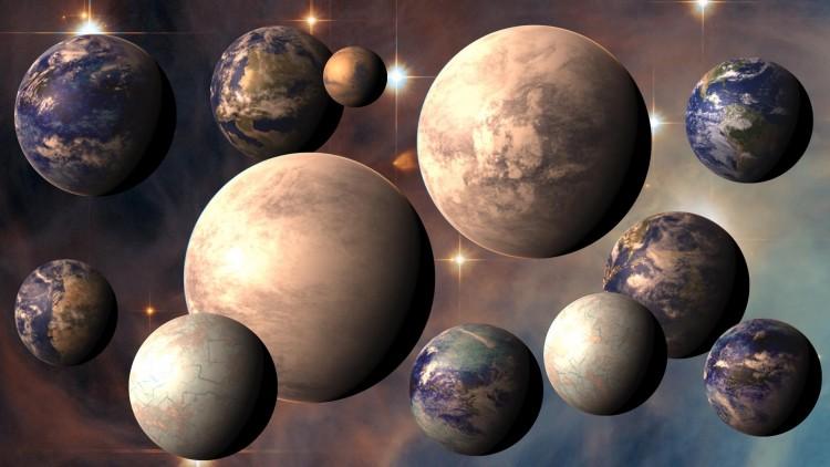 É planeta candidato a abrigar uma civilização que não acaba mais. (Crédito: PHL/UPR)