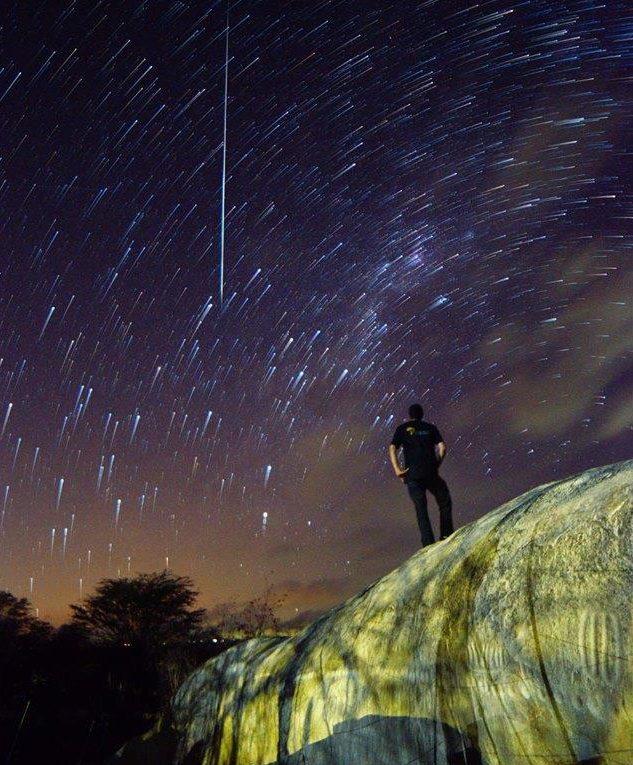 Resultado de imagem para Astrônomos brasileiros descobrem duas novas chuvas de meteoros