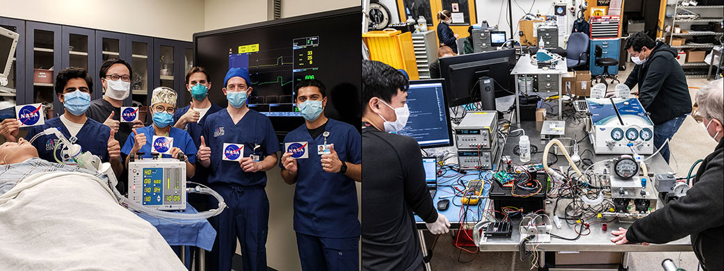 NASA contributes respirator, helmet and decontaminator against Covid-19